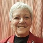Næstformand og sekretær i bestyrelsen, Inge står også for Besøgstjenesten